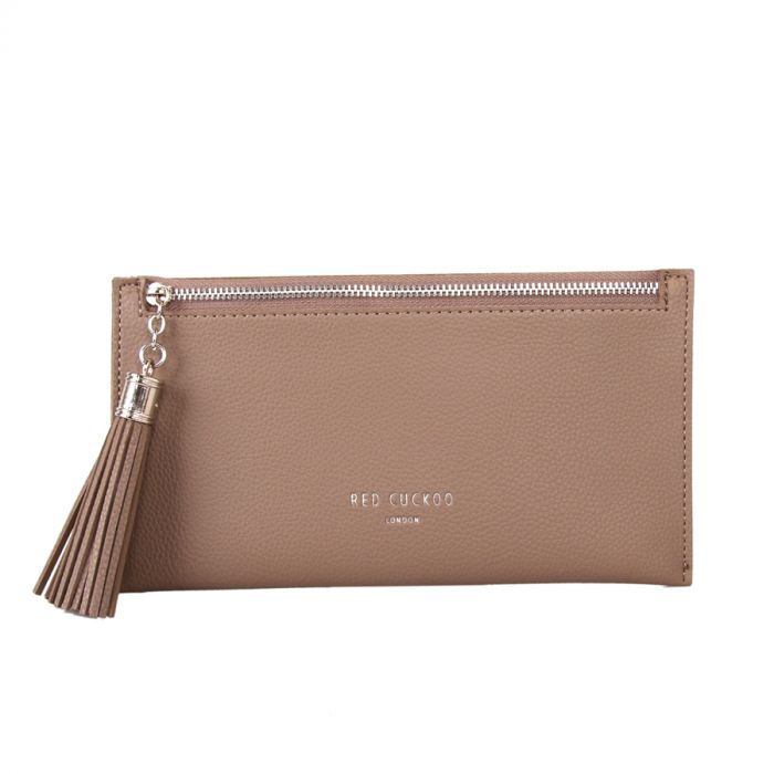 Coin Purse with Tassel Zip