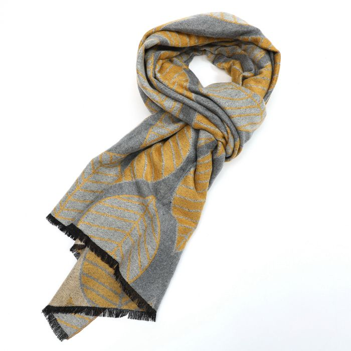 Terry Leaf Scarf - Various colours