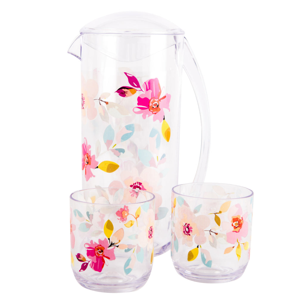 Gardenia Decorated Pitcher 2L