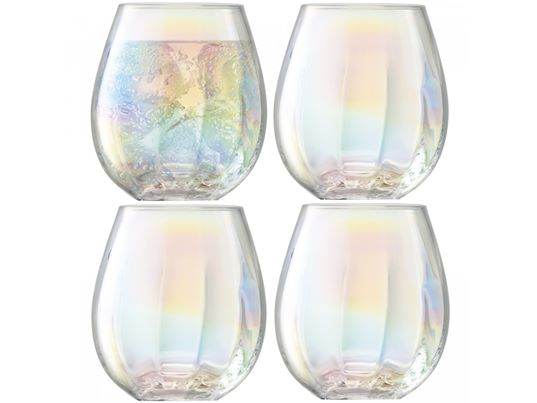 LSA Pearl Glass Tumblers (set of 4)