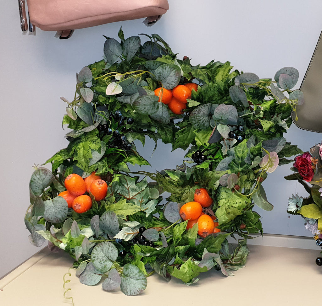 Winter Fruits Wreath (40 inches)