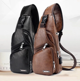 Leather Sling Bag ( Buy 1 Get 1 )