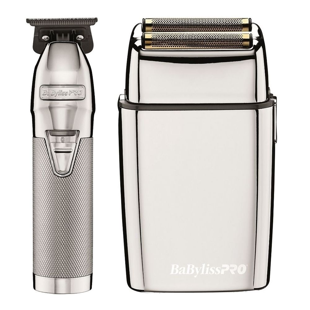 Babylisspro Silverfx Collection Trimmer Shaver Combo Fxholpk2s