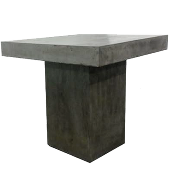Dessau Dining Table, Concrete Grey