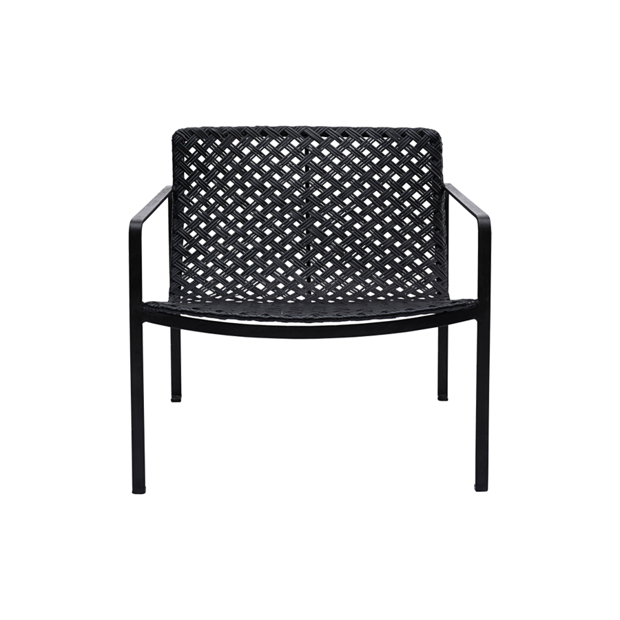 Habra Chair with Armrest, Black FROM HOUSEDOCTOR