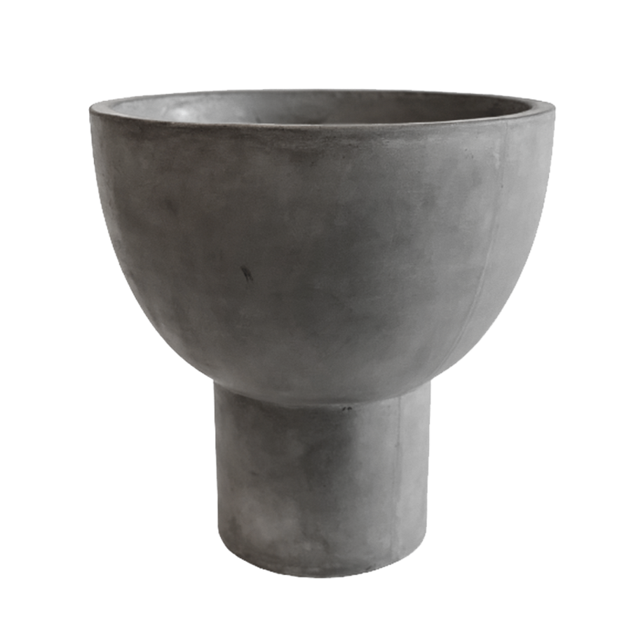 Rom Pot Large, Grey by IO Scandinavia
