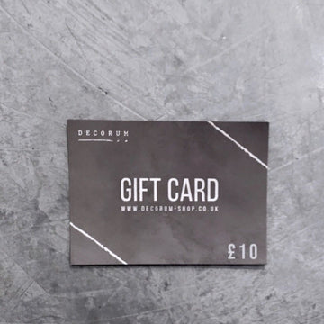 Decorum Gift Card Vouchers