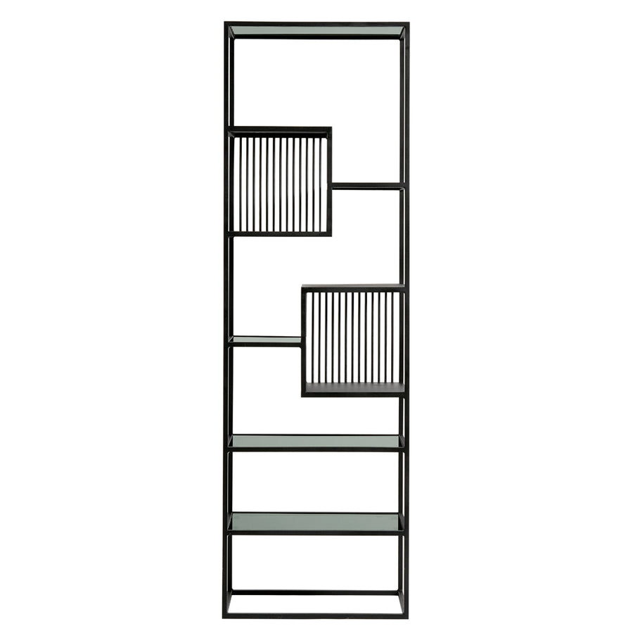 Muubs Denver Tall Bookshelf, Black