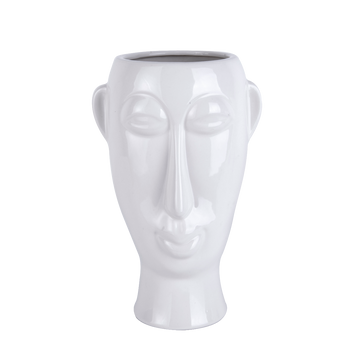 Present Time Mask Plant Pot Long