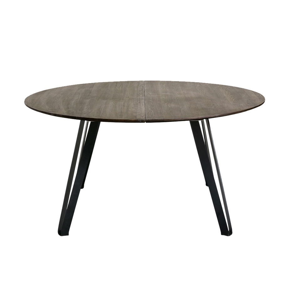 Muubs Space Smoked Round Dining Table