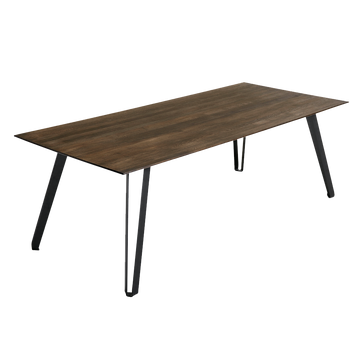 Muubs Space Smoked rectangular Dining Table, Oak