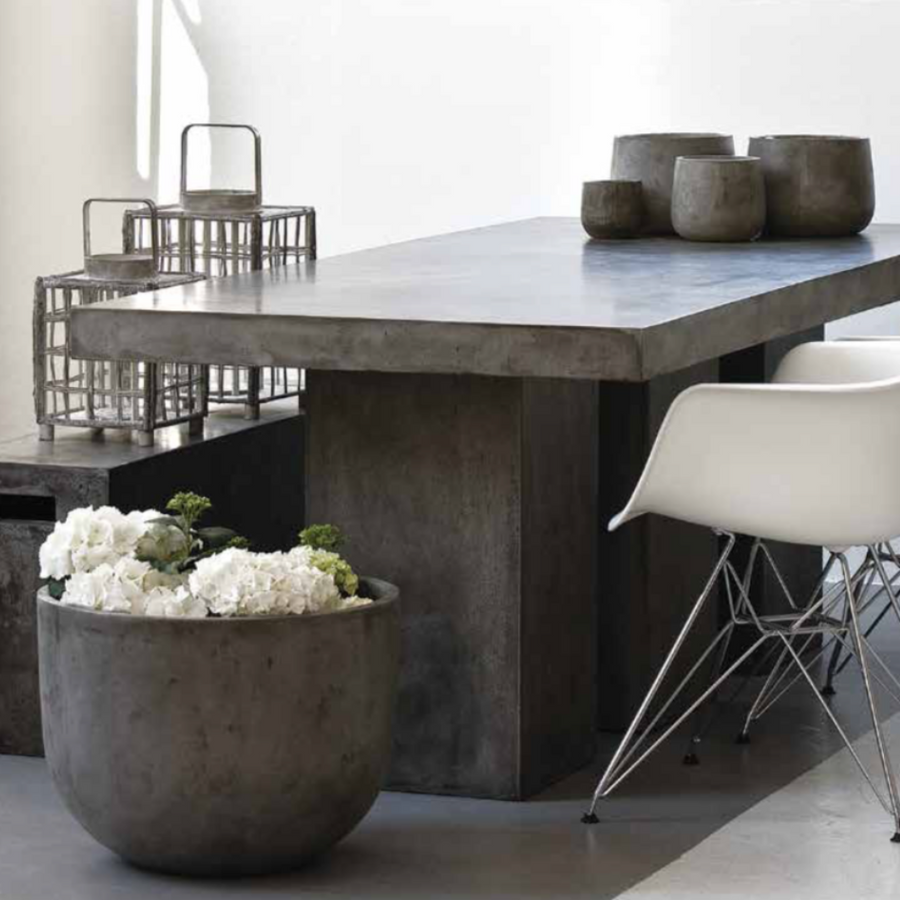 Kando Table, Concrete Grey