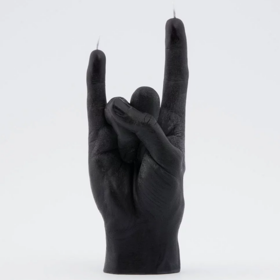 'You Rock' Hand Gesture Candle