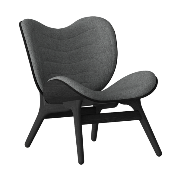 Umage A Conversation Piece Armchair, Black