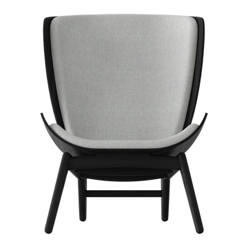 The Reader Arm Chair, Black by Umage