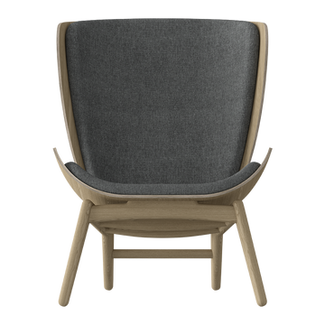 The Reader Arm Chair, Light Oak by Umage