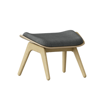 The Reader Ottoman, Light Oak by Umage