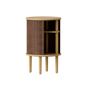 Audacious Side Table, Light Oak