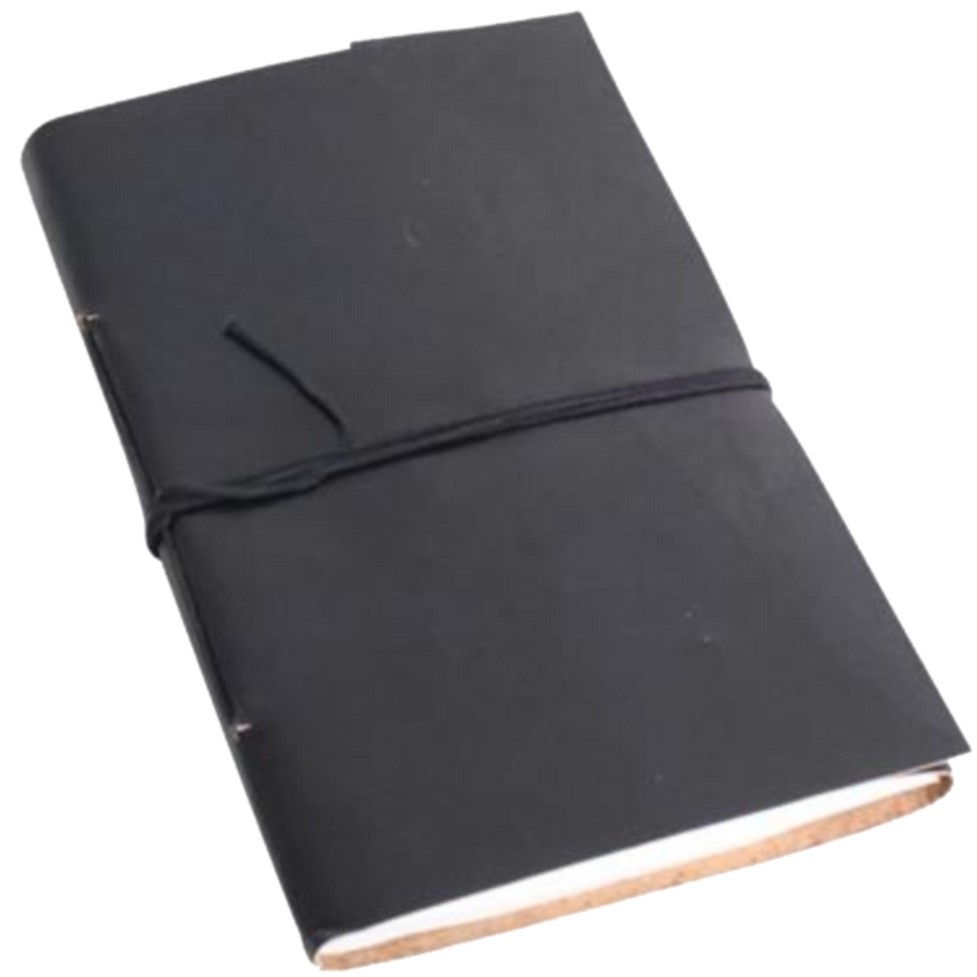 Vora Leather BIG Note/Sketch Book - Black