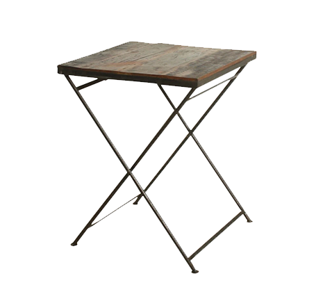 Bistro Folding Table - Raw Materials