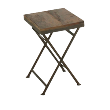 Bistro Folding Stool - Raw Materials
