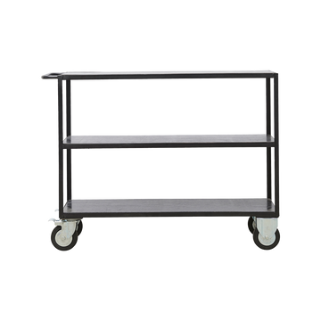 Housedoctor Black Shelving unit, Low