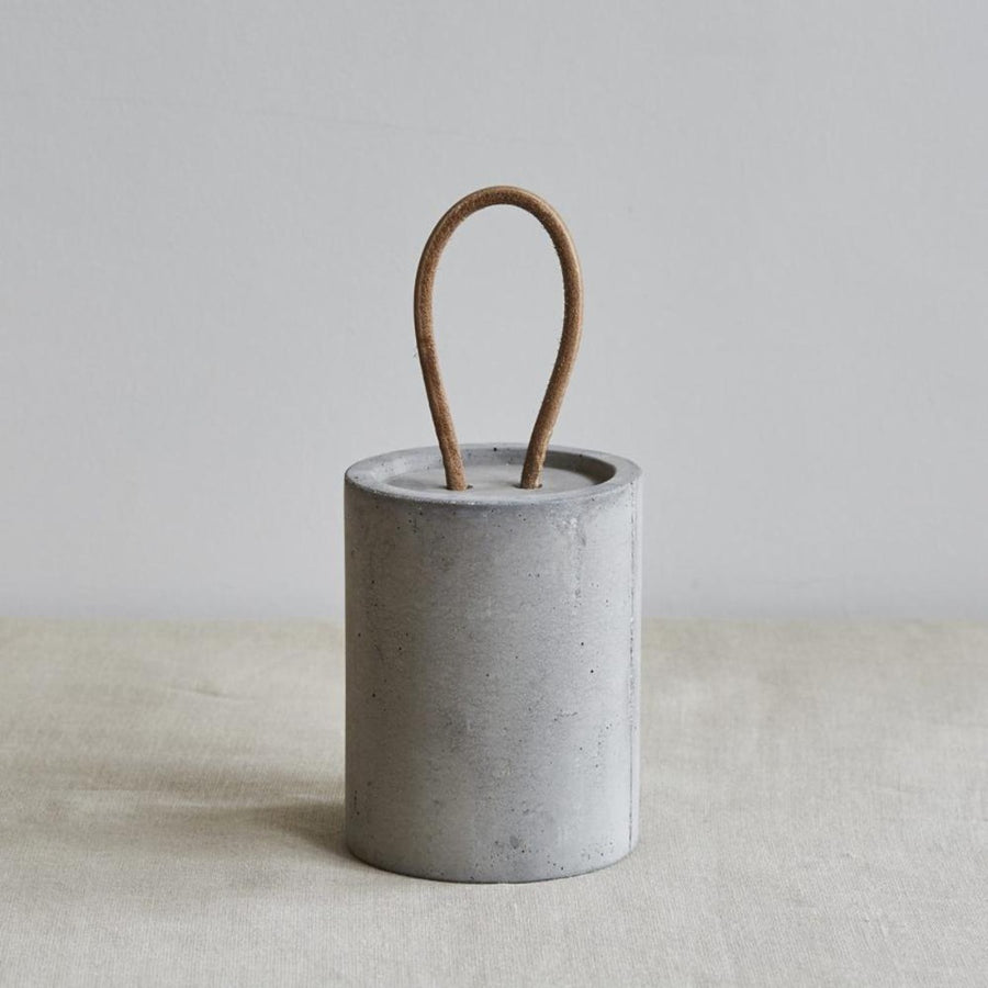 Wild and Wood Concrete leather Door Stopper