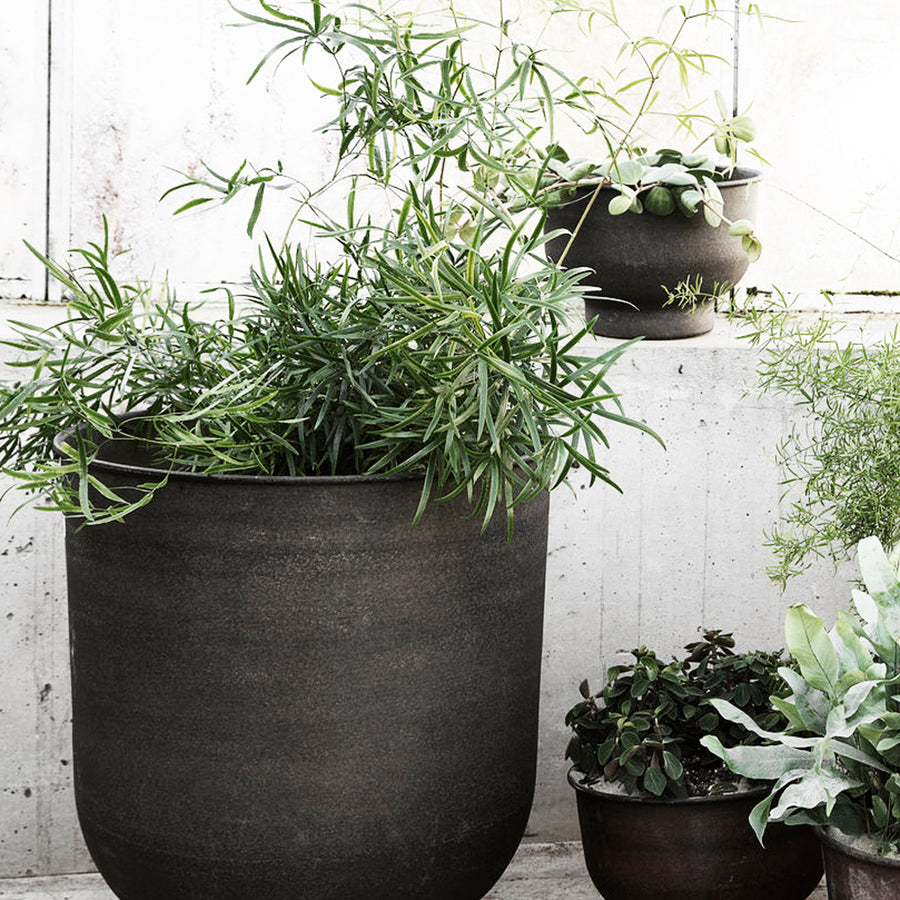 Vig Planter - Grey - Large