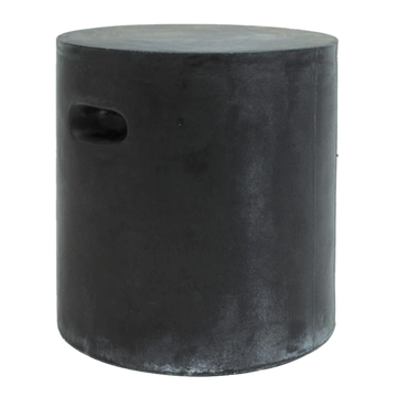 Fibreflex Round stool - Dark Grey