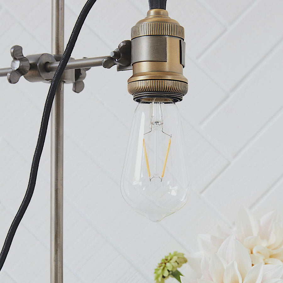 House Doctor LED Bulb, Clear, Squirrel Cage
