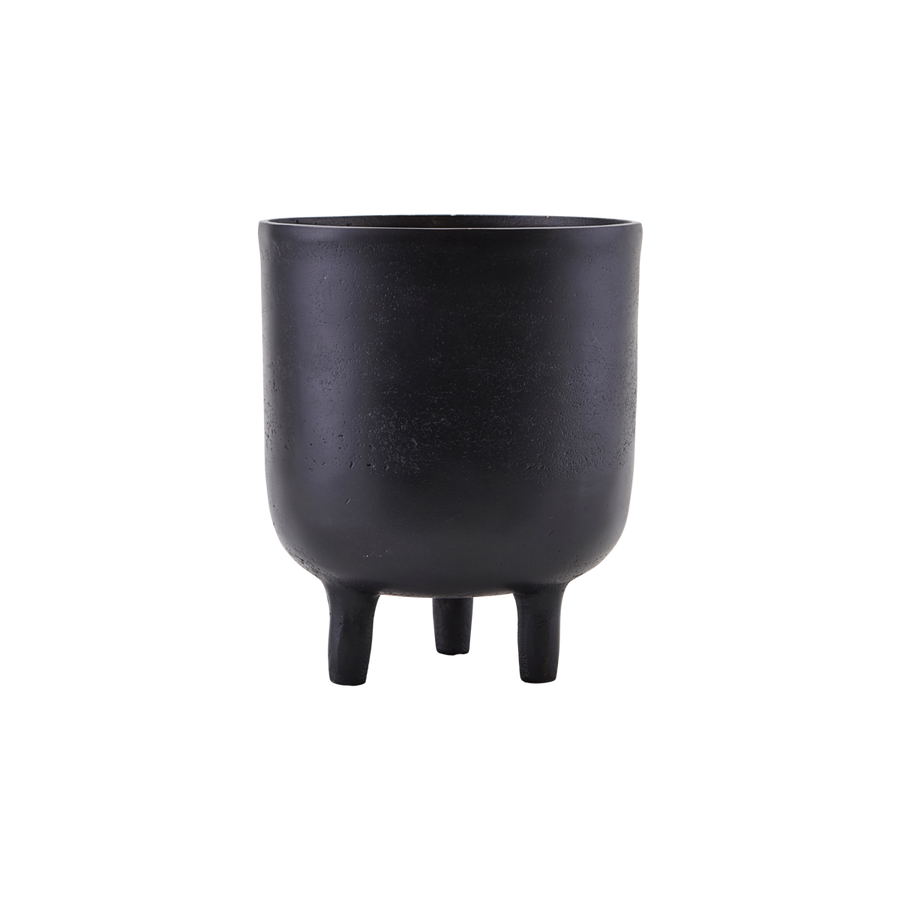 Jang Planter ,Black Oxidized by House Doctor