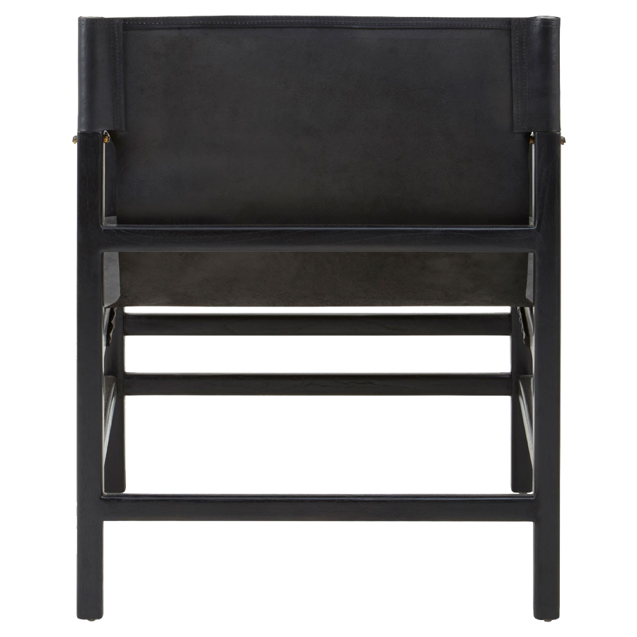 Kendari Black Straight Chair by Premier