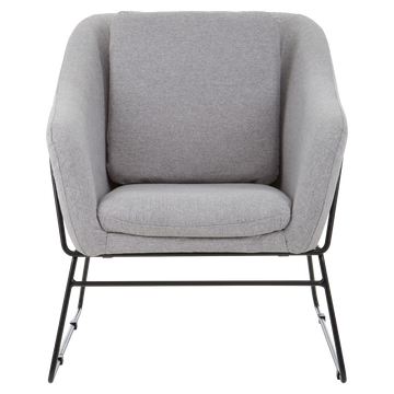 Stockholm Armchair Light Grey