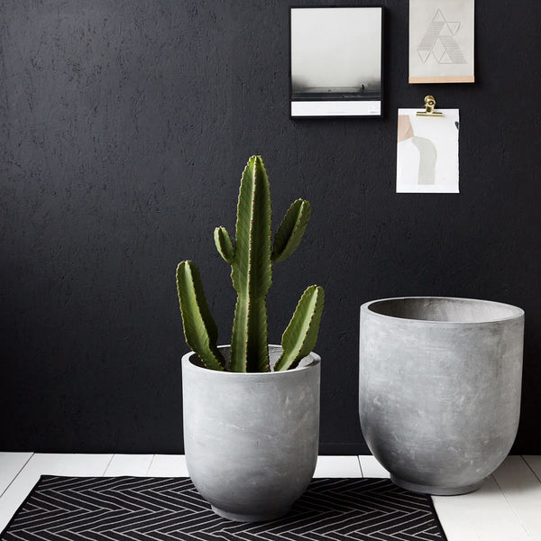 Gard Concrete Planters - XL by Housedoctor