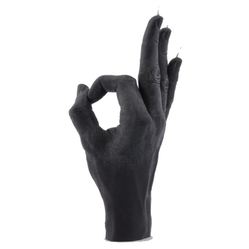 Hand Gesture Candle, OK