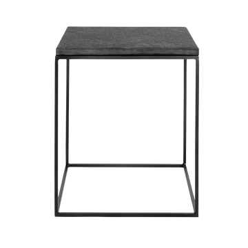 Muubs Bronx Side Table, Black Stone