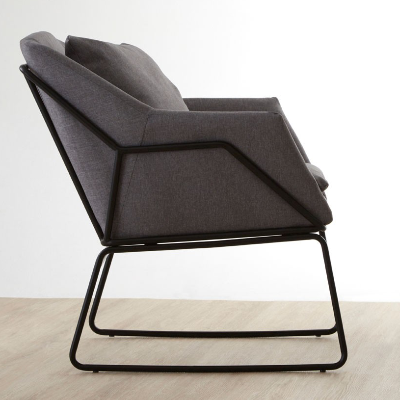Stockholm Grey Chair