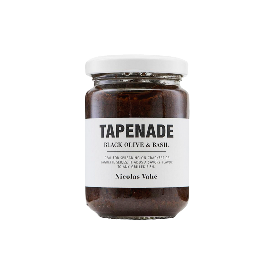 Tapenade with Black Olive and Basil