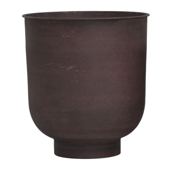 Vig Planter, Burnt Henna, Large