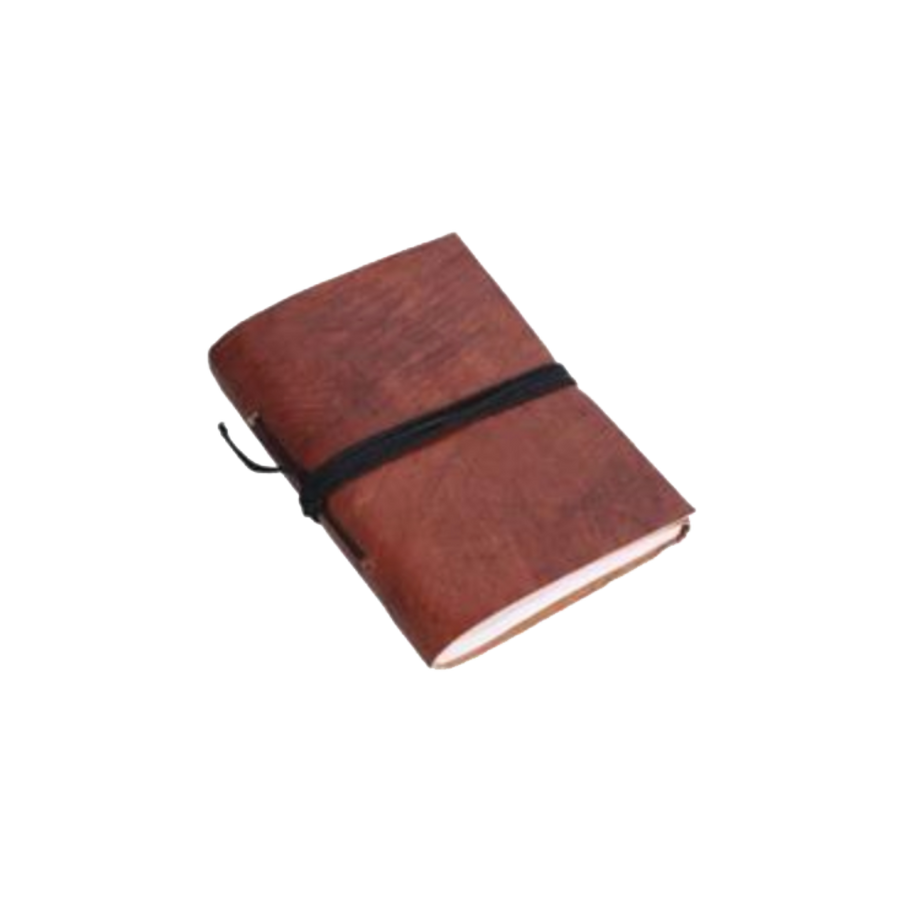 Vora Leather Note Book - Brown
