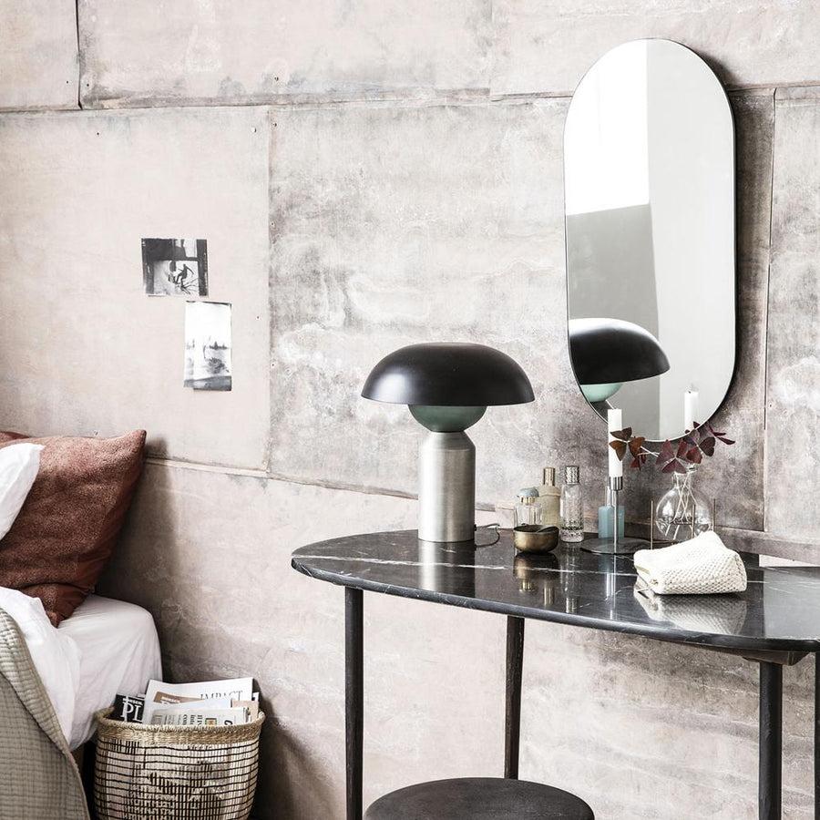 Walls Mirror, Oval