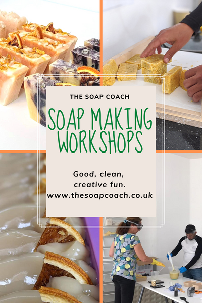 Beginners Natural Soap Making Workshops Half Day and Full Day (Over 18's only)  From £65pp