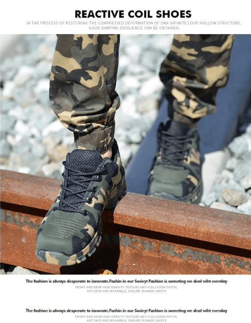 Bulletproof Safety Working Shoes - VESSII