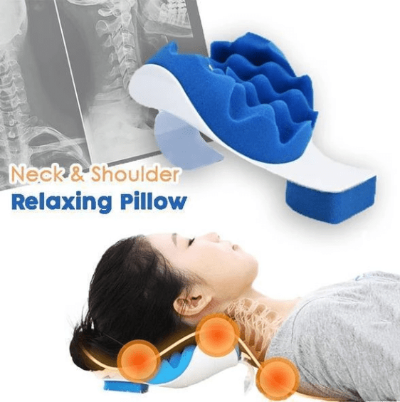 Neck and Shoulder Relaxing Pillow - VESSII