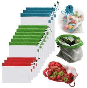 Waste Free Reusable Produce Bags(12PCS) - VESSII