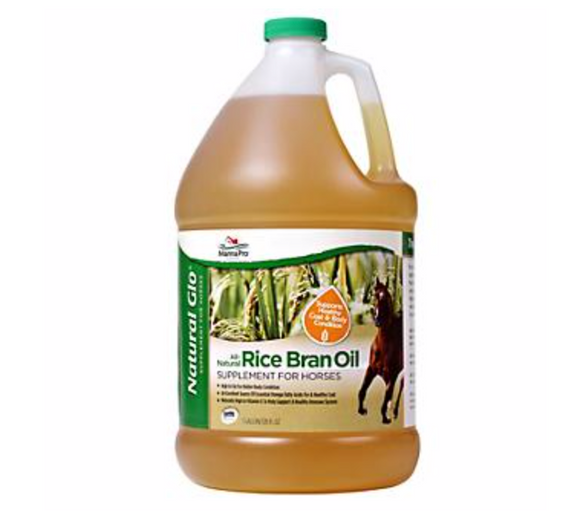 Manna Pro: Natural Glo Rice Bran Oil