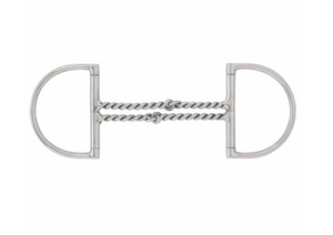 Pony Double Twisted Wire Hunter D-Ring Bit