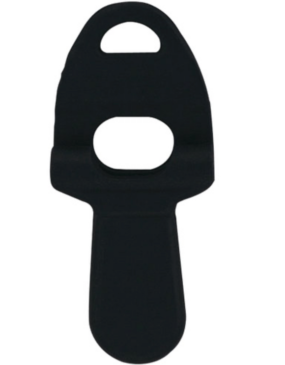 Black Rubber Bit Port