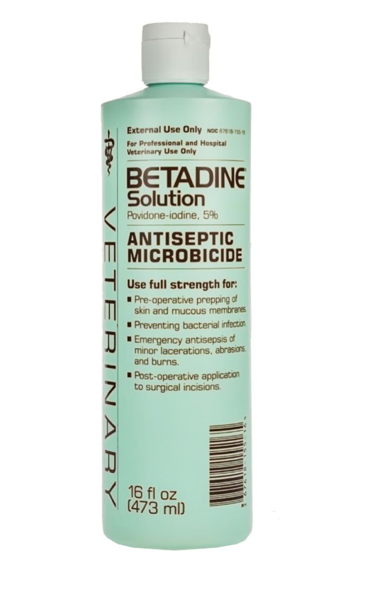 Betadine Solution 16oz