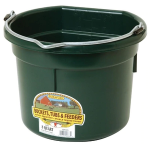 Little Giant Plastic Flat Back Bucket 8 QT